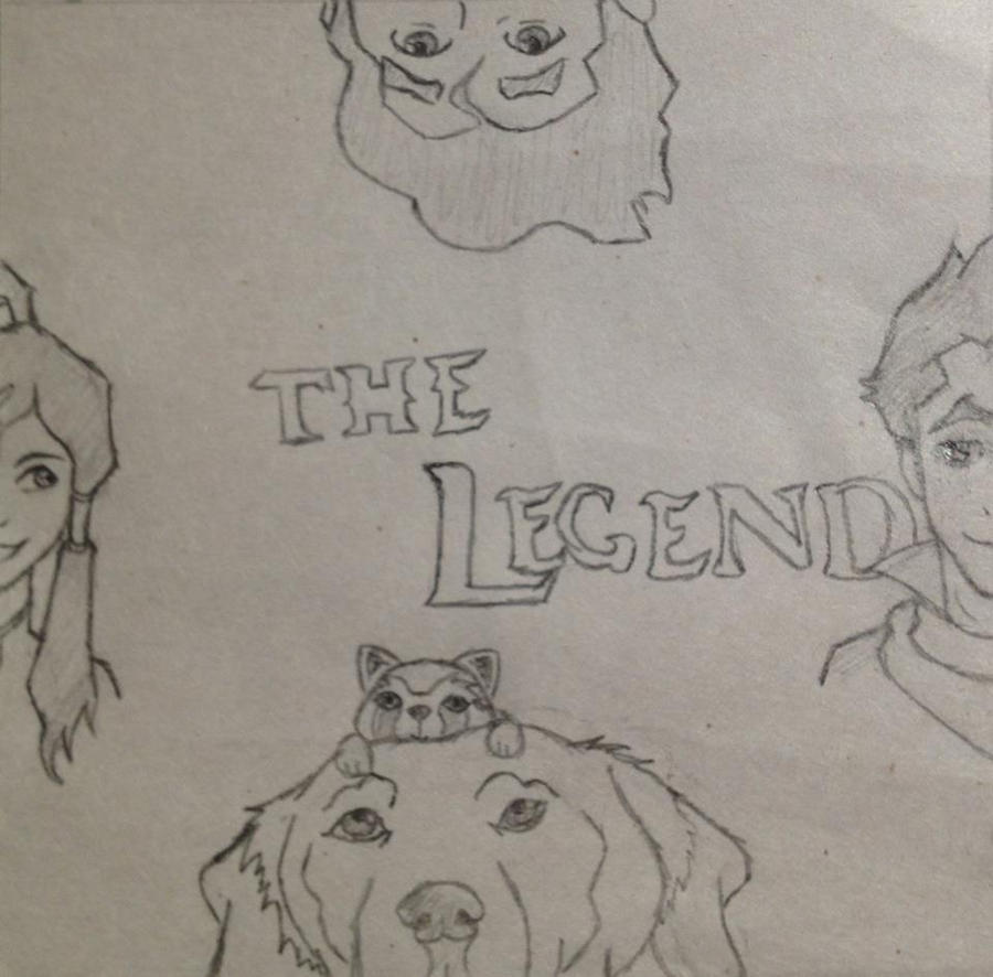 The Legend of Korra by 106Eli