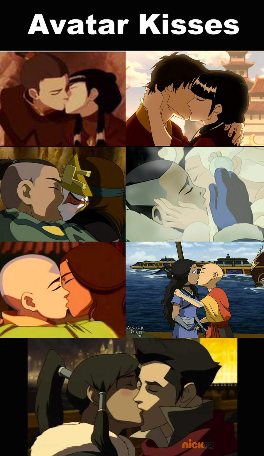 Avatar Kisses by 106Eli
