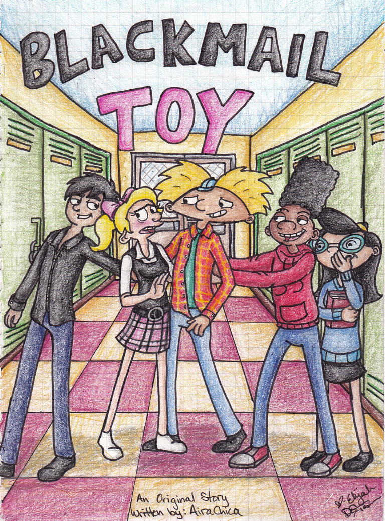Blackmail Toy Cover Art by 106Eli