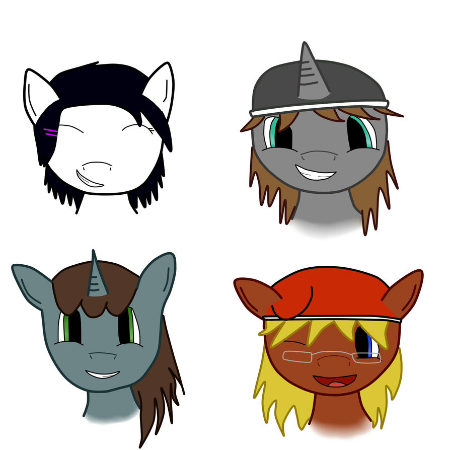 Steam Pony's by jaykanamoor
