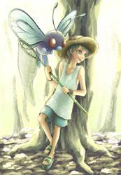 Bug Catcher from Pokemon FRLG by jkludia