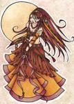 Autumn Belly Dancer