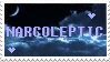 Narcoleptic stamp