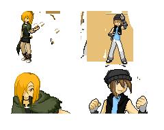 Trainer Sprites by minarui
