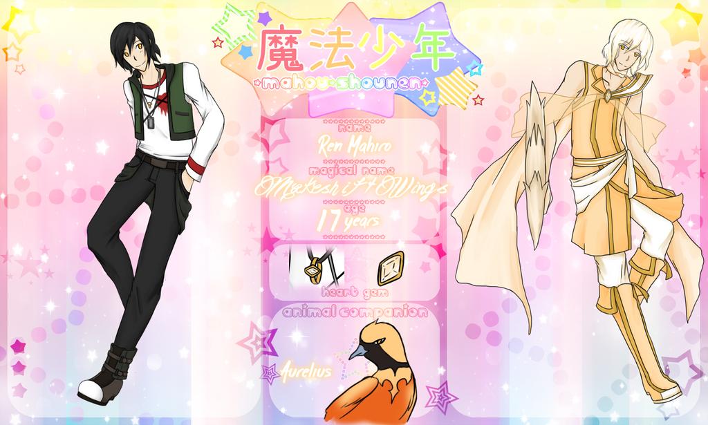 MahouShonen: Ren Mahiro by minarui