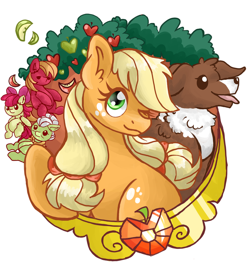 Elements of Applejack by Waffleponypanda