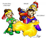 The - chibi - Fight for China