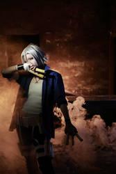 katekyuhitmanROBORN-ARASHI BATTLE-Gokudera Hayato1