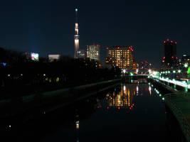 Tokyo Skytree by L-Spiro