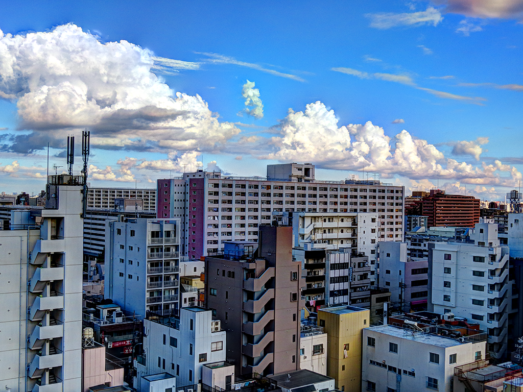 Tokyo Clouds HDR