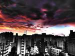 Surreal Tokyo Sunrise HDR