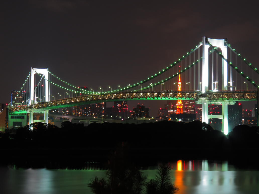 Rainbow Bridge by L-Spiro