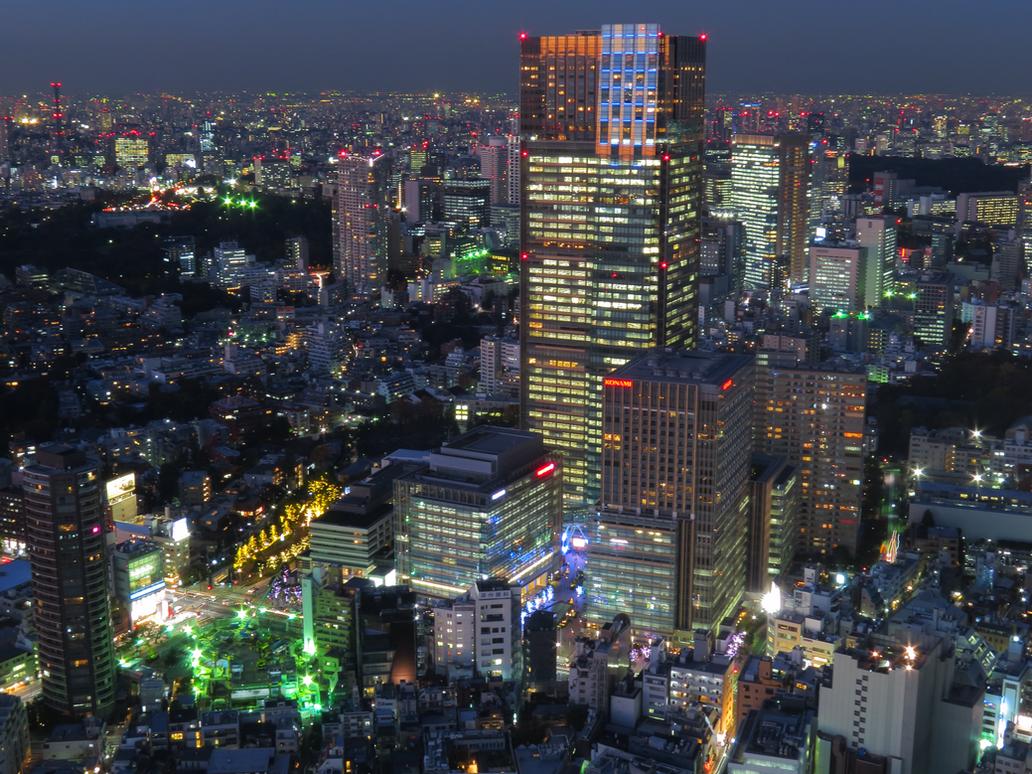 Tokyo Midtown Tower by L-Spiro