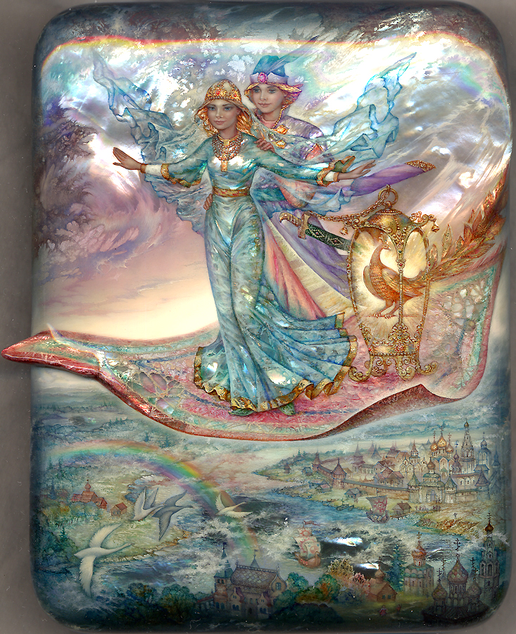 The Flying Carpet By Knyazevsergey On Deviantart