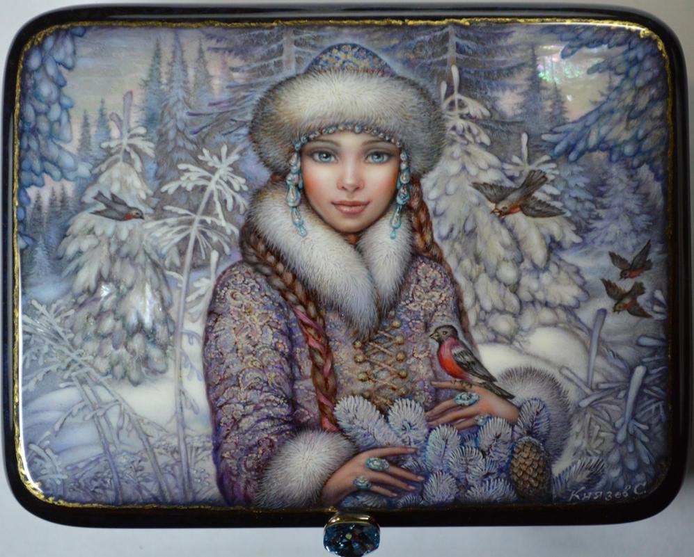 Snowmaiden by KnyazevSergey