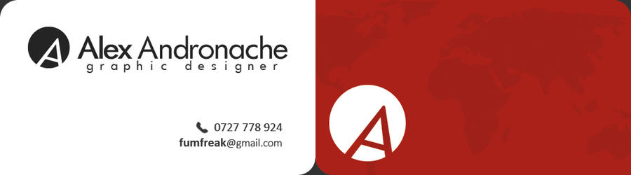 [BUSINESS CARD] AlexAndronache by fum4ik