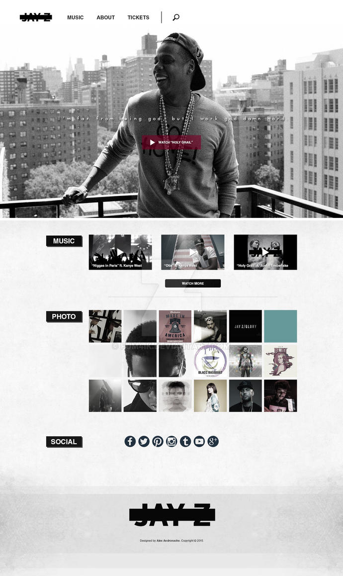 [TEMPLATE] JAY Z by fum4ik