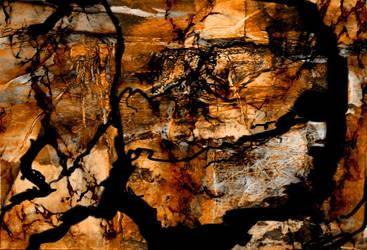 Brown Abstract by dodadart