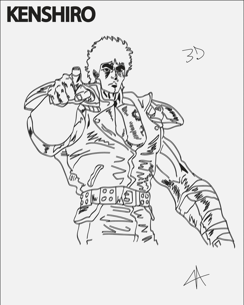 The Fist Of The North Star By T34Boriken On DeviantArt