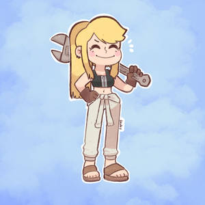 A happy Winry !