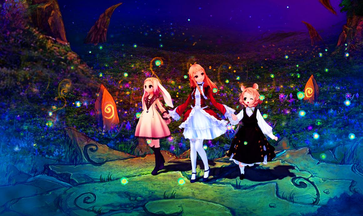 Kanihira's trio by RiStarr