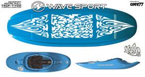 Another Blue Kayak Design