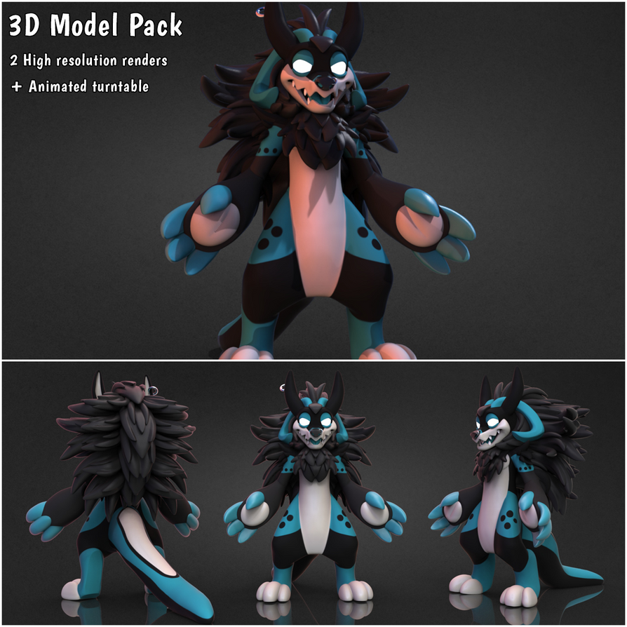 Pack basic 3d v1 by lupus-lup