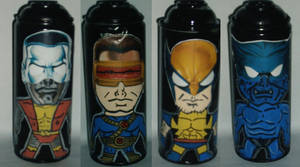 x-men spray cans by ztenzila