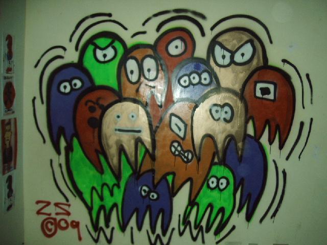 a pack of ghost by ztenzila