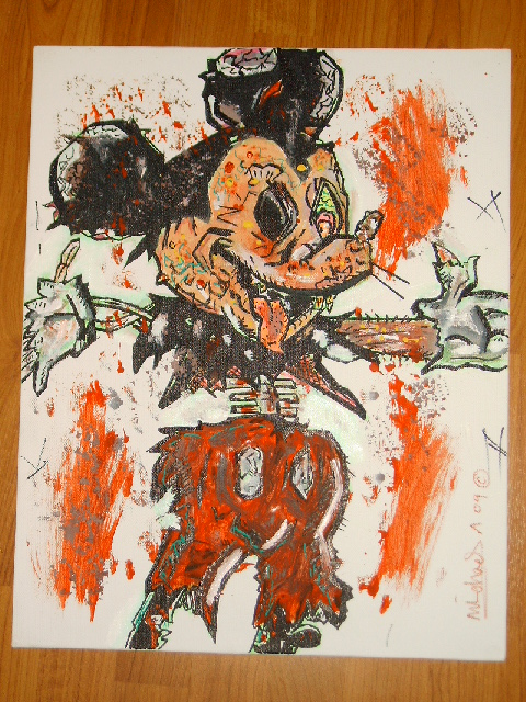 Zombie Mickey Mouse Wallpaper