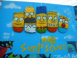 customised decks the simpsons by ztenzila