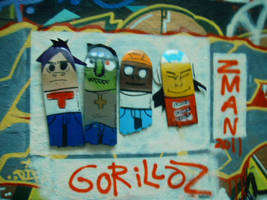 gorillaz broken by ztenzila