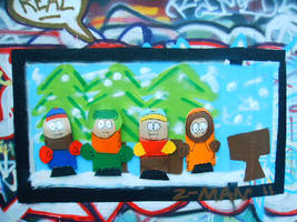 south park broken decks by ztenzila