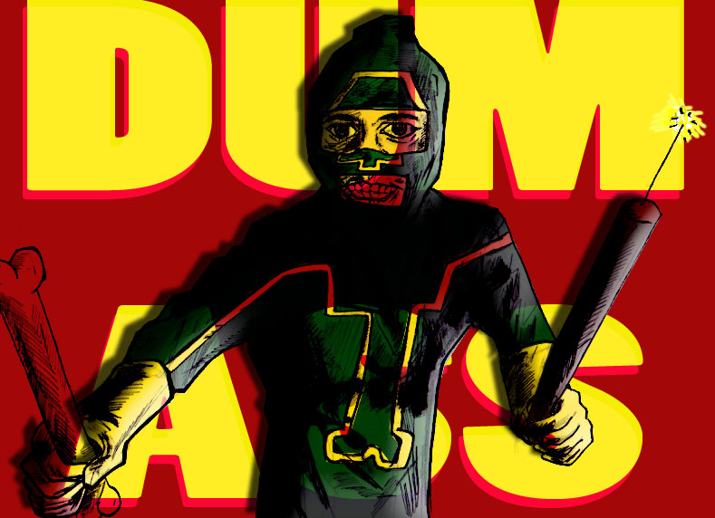 Jim Carrey As Dum Ass 01 by ztenzila