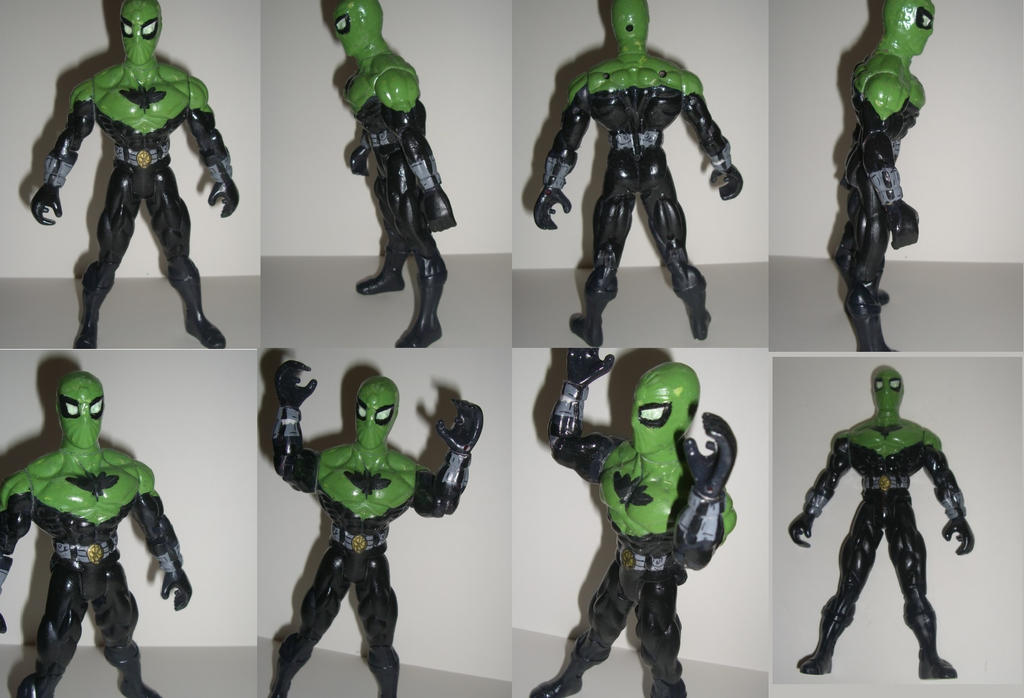 spider-hemp ACTION FIGURE puppet profile by ztenzila