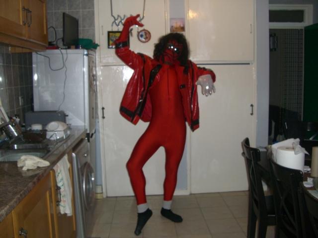 Spider-Jackson THE THRILLER cosplay 13 by ztenzila
