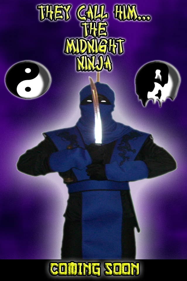 THEY CALL HIM THE MIDNIGHT NINJA poster design 03 by ztenzila