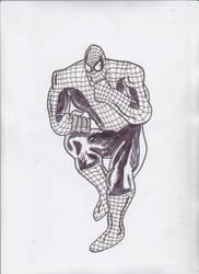 SPIDEY DKR style sketch by ztenzila