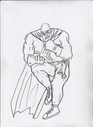 Blankman DKR style Sketch by ztenzila