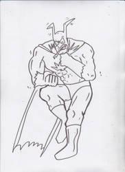 HEMPMAN DKR style Sketch by ztenzila