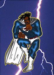 superman (michael b jordan) DKR style 2 by ztenzila