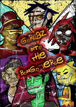 Bong-gorillaz Comic