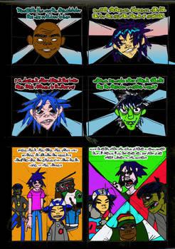 Bong-gorillaz Comic 2