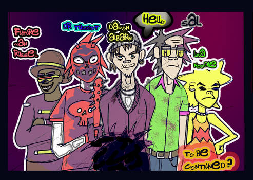 Bong-gorillaz Comic  7