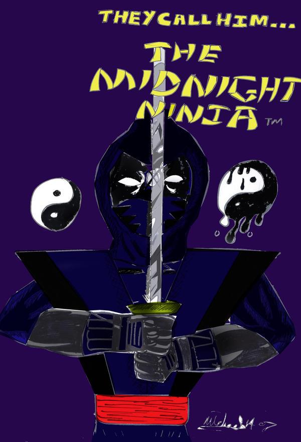 midnight ninja promo colour by ztenzila