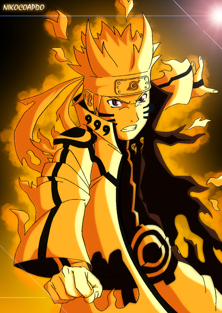 naruto bijuu mode by nikocopado on DeviantArt