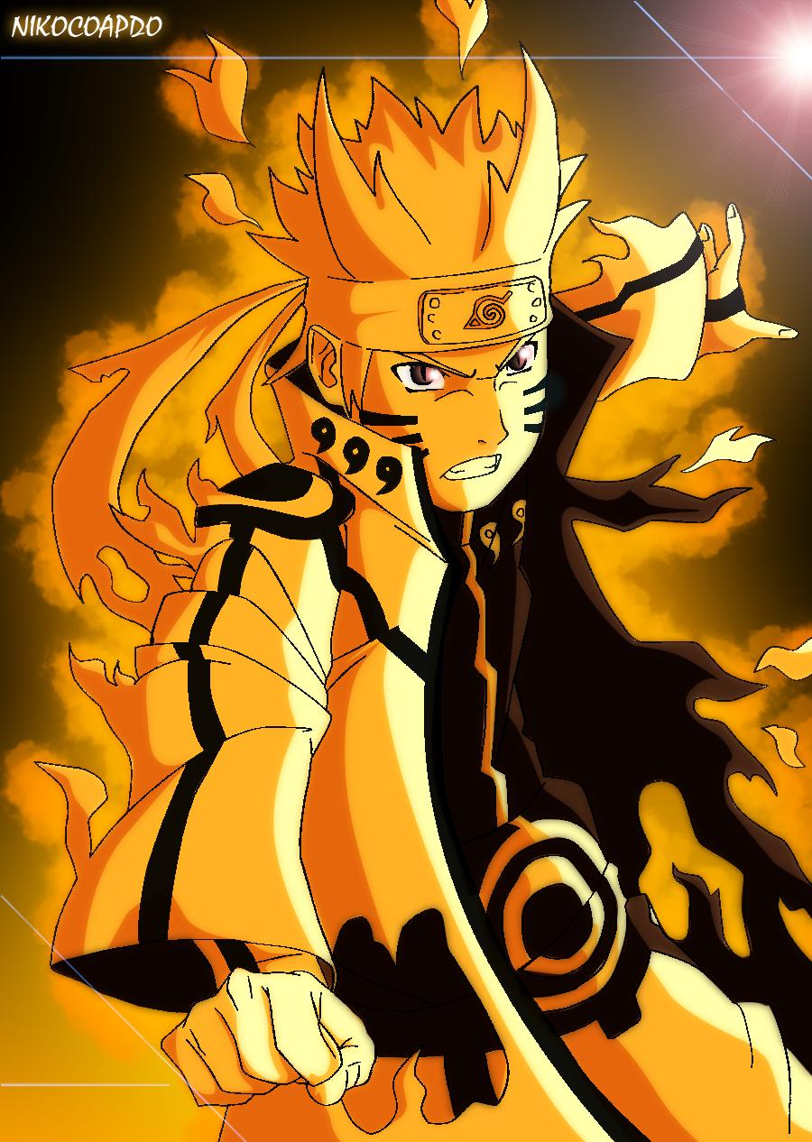 Naruto Bijuu Mode Chibi | Auto Design Tech