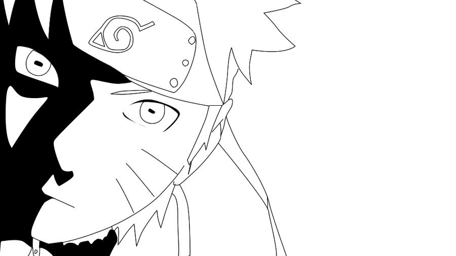 Naruto Shippuden Lineart : Naruto shippuden lineart by nikocopado on deviantart