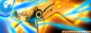 Naruto Bijuu Mode ! -Rasengan