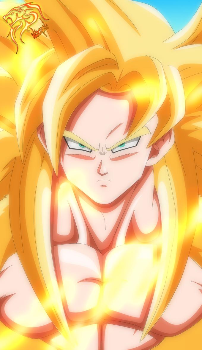 Goku - Super Saiyan God. by nikocopado on DeviantArt